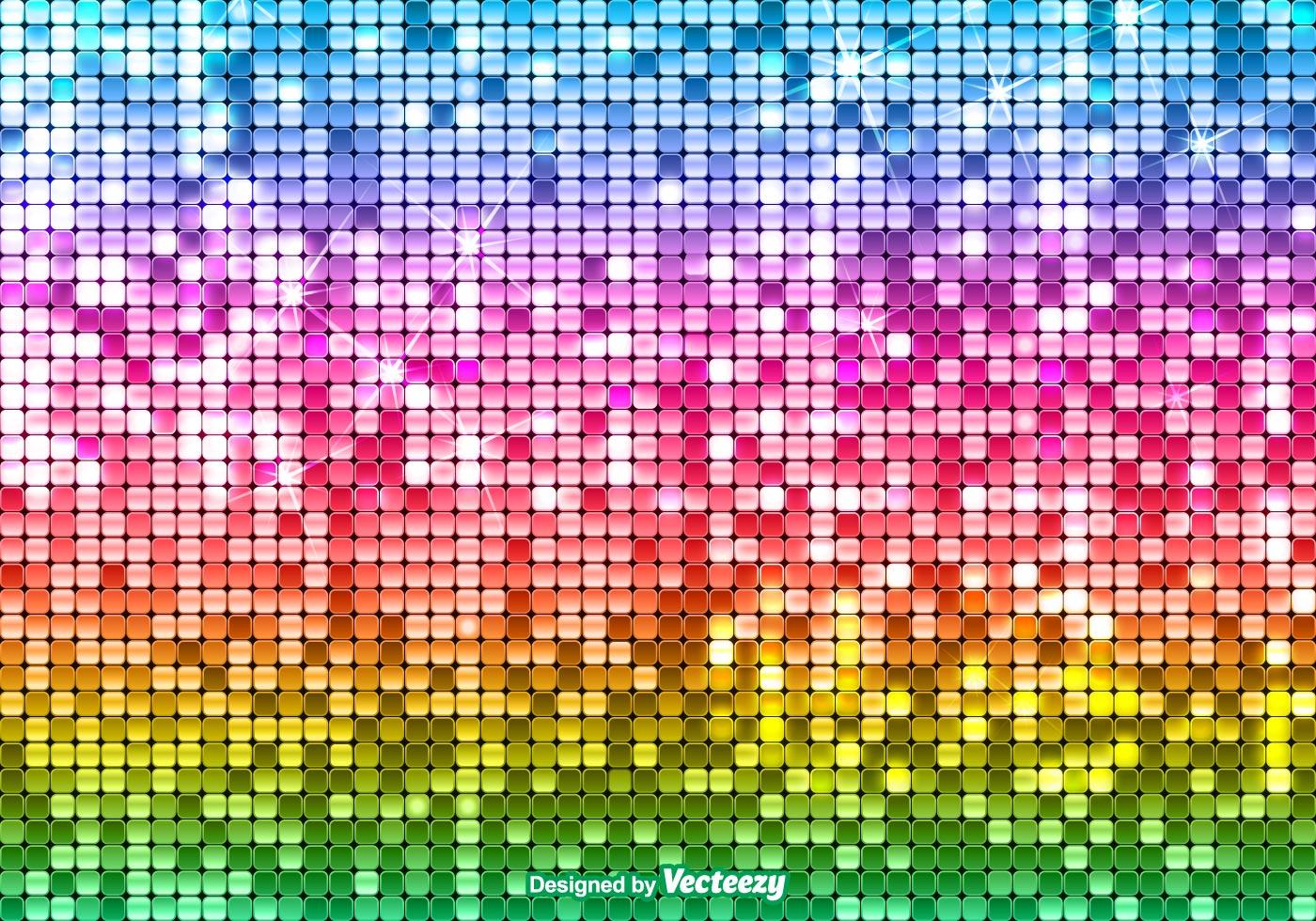 Bright Sequin Rainbow Background Free Photoshop Brushes
