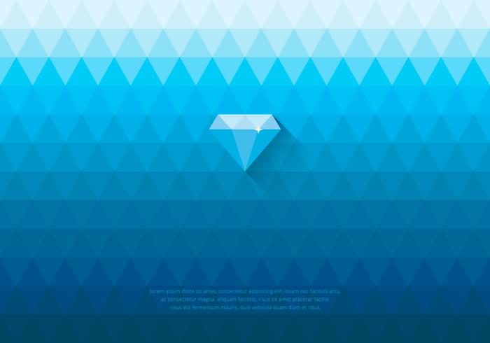 Blue Rhinestone Diamond PSD Background