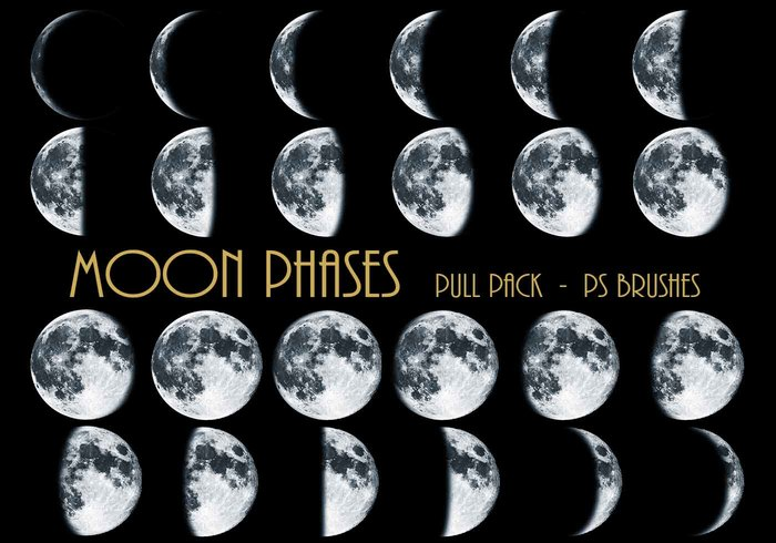 26 Fases de la Luna Ps Brushes abr Vol.5