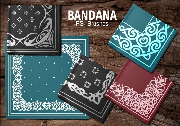 20 Bandana PS Brushes.abr vol.6
