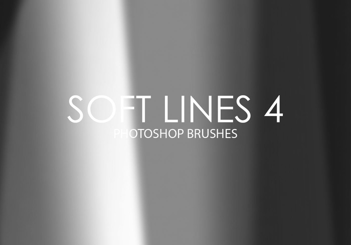 Free Soft Lines Photoshop Brushes 4