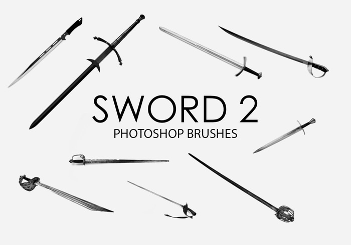 Free Sword Photoshop Brushes 2
