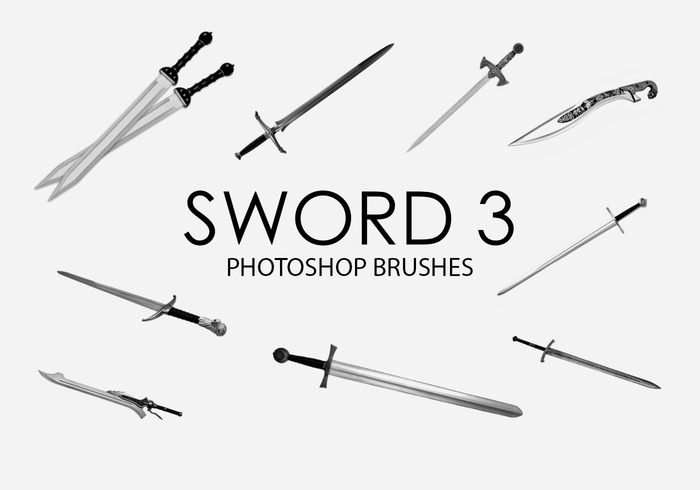 Free Sword Photoshop Brushes 3