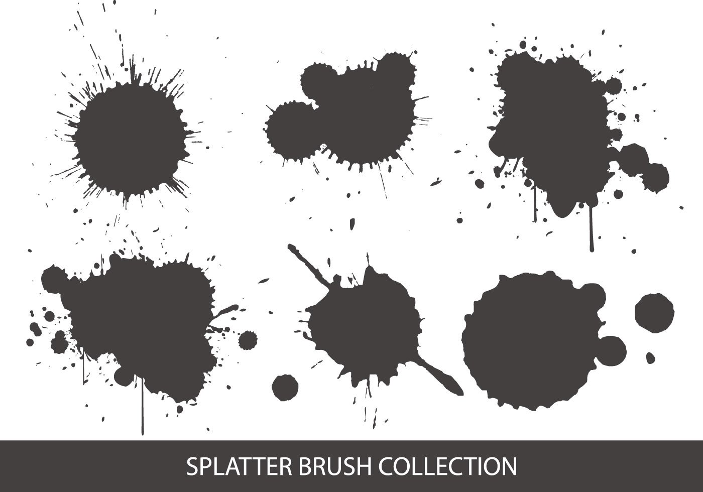 splatter brush collection free photoshop brushes at blood splat vector free blood splat vector free