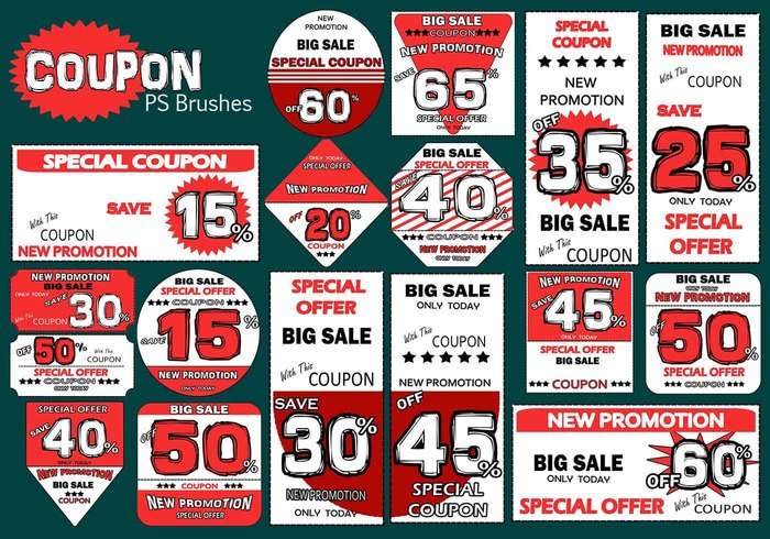 20 coupons ps brosses abr. Vol.6