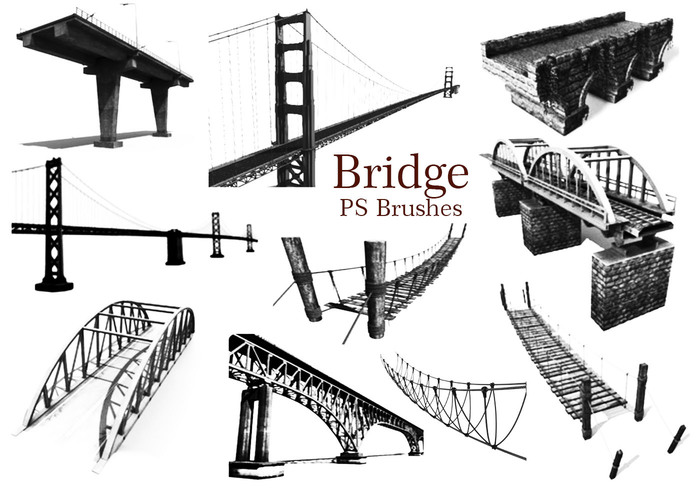 20 Bridge PS Brushes abr. Vol.1