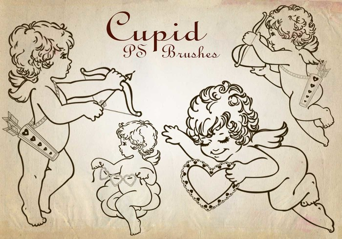 20 Cupid PS Brushes abr. Vol.2