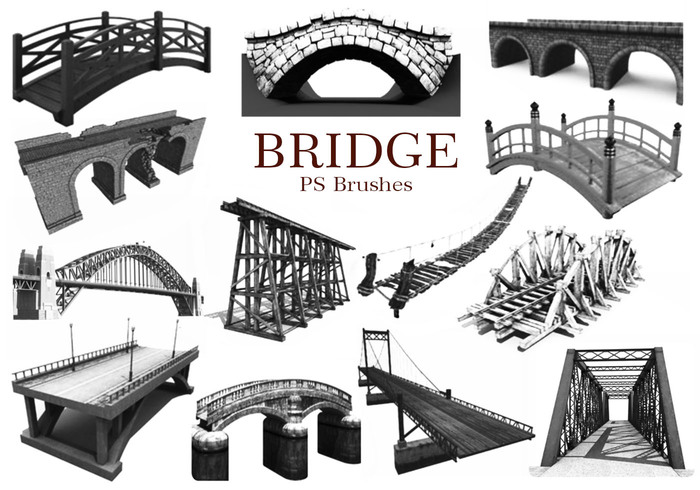 20 Bridge PS Brushes abr. Vol.2
