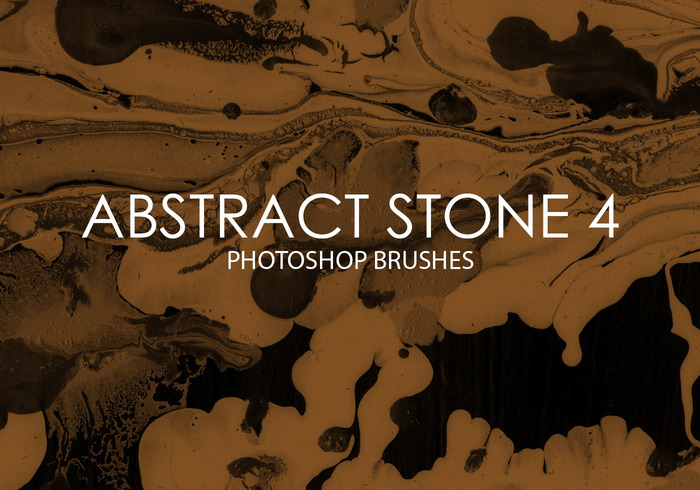 Free Abstract Stone Pinceles para Photoshop 4