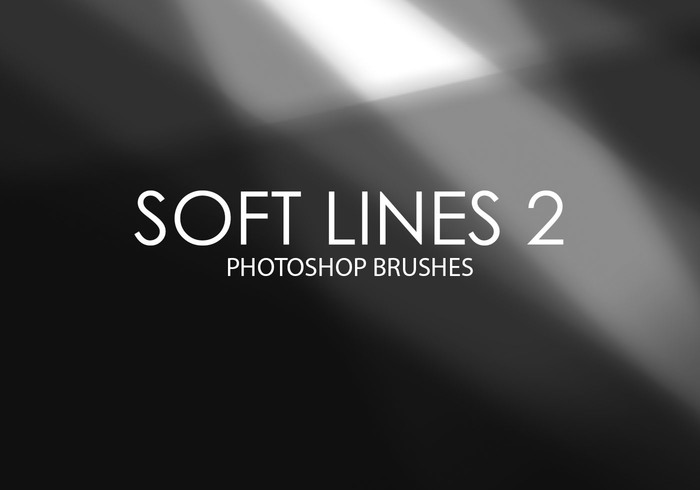 Free Soft Lines Photoshop Brushes 2
