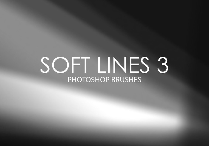 Free Soft Lines Photoshop Brushes 3