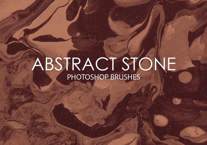 Free Abstract Stone Photoshop Brushes