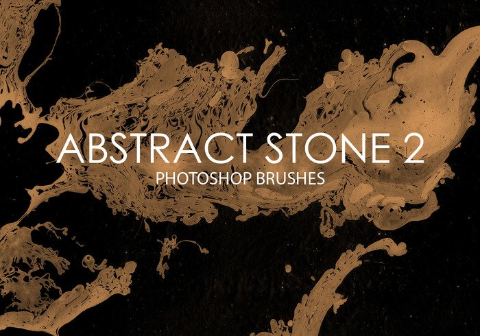 Free Abstract Stone Photoshop Brushes 2