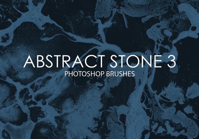 Free Abstract Stone Photoshop Brushes 3