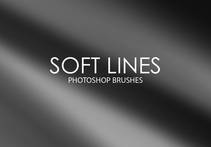 Brosses de photoshop à lignes douces libres