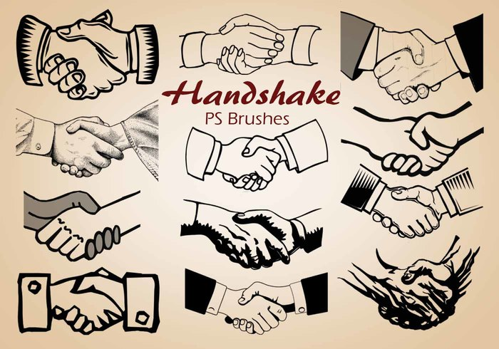 20 Handshake PS Bürsten abr. Vol.4