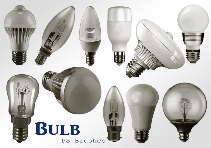 20 Light Bulb Ps Brushes abr. vol.2