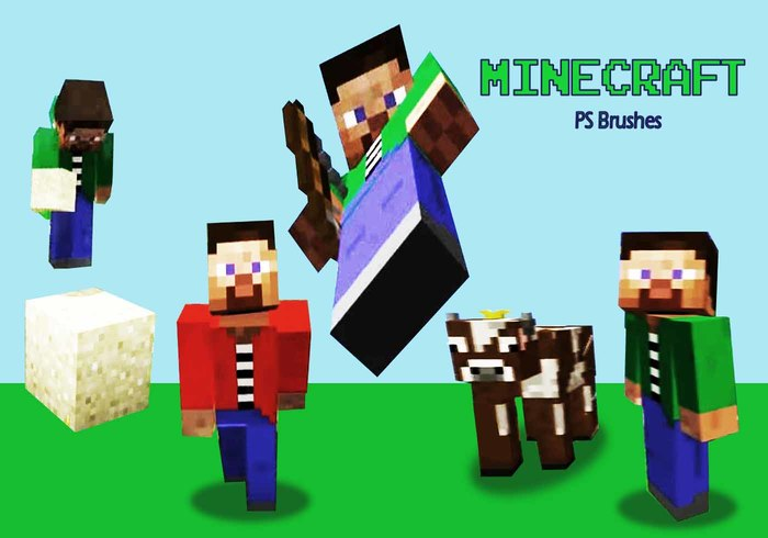 20 Minecraft PS Pensels abr. Vol.2