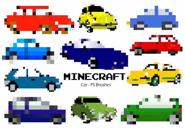 20 Minecraft Car PS Pensels abr. vol.3