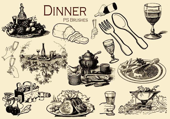 20 Abendessen ps brushes.abr vol.2