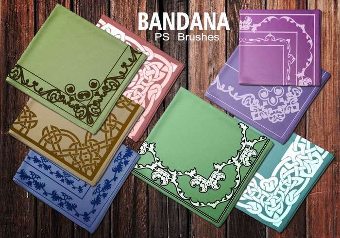 20 Bandana PS Brushes