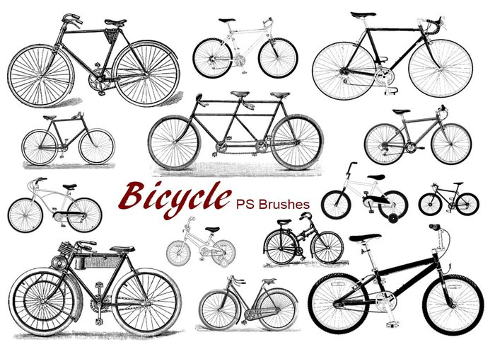 20 Bicycle PS Brushes abr.Vol.1