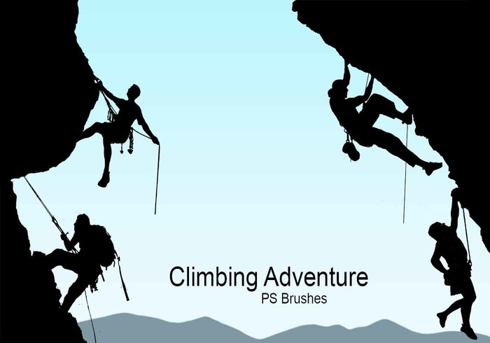 20 Climbing Adventure PS Brushes abr. Vol.2