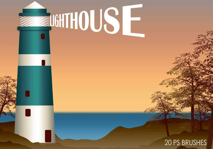 20 Lighthouse PS Pinceles abr.Vol.2
