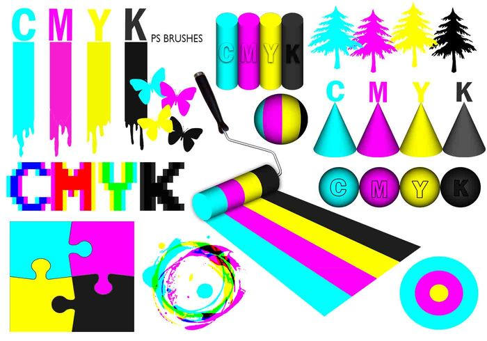 20 Cmyk PS Brushes abr.Vol.2
