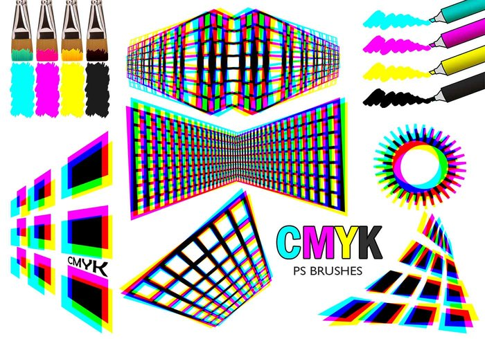 20 Cmyk PS Pinceles abr.Vol.3