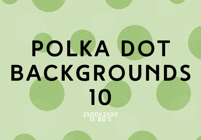 Polka Dot Background 10