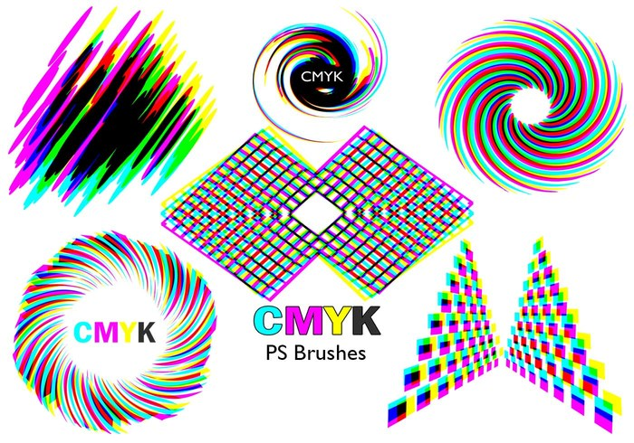 20 Cmyk PS Pinceles abr.Vol.4
