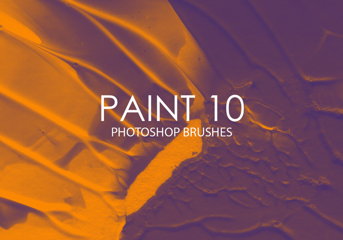 Free Paint Photoshop Brushes 10