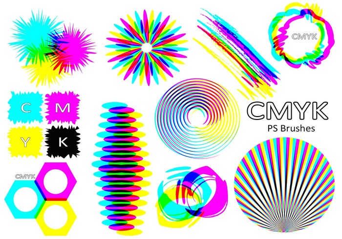 20 Cmyk PS Brushes abr.Vol.5