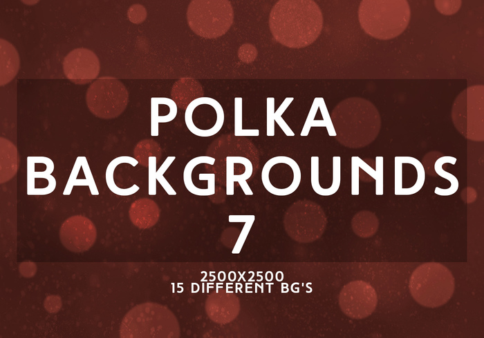 Polka Backgrounds 7