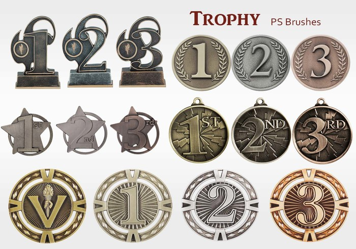 20 Trophy PS Brushes abr.vol.12