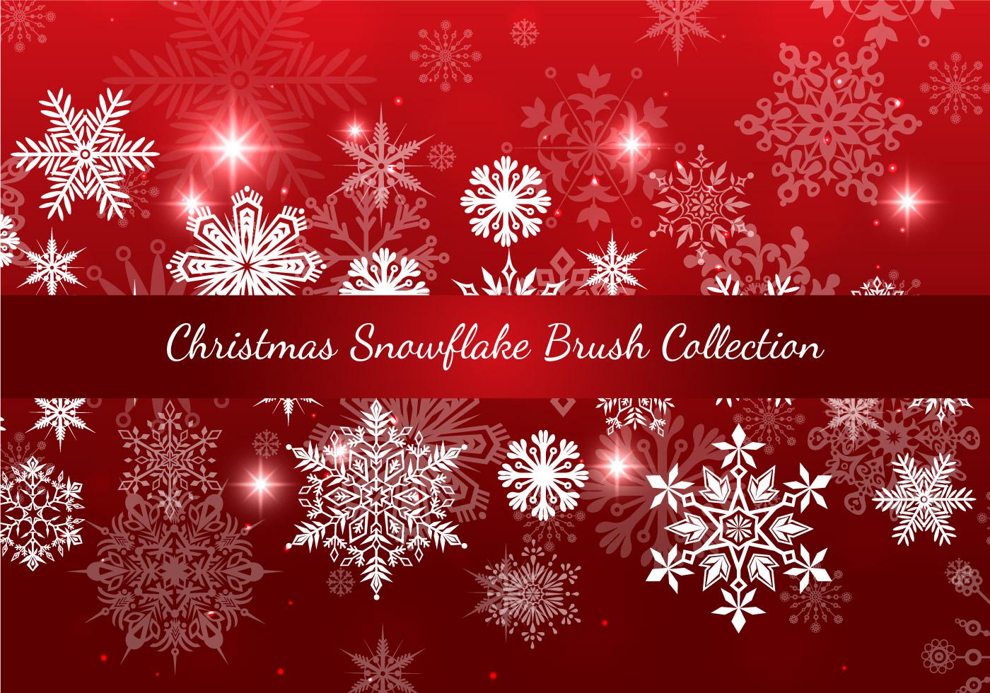 Weihnachten Schneeflocke Pinsel Sammlung - Kostenlose Photoshop ...