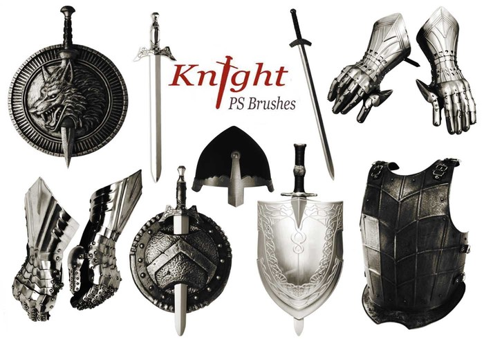 20 Knight PS Brushes abr.vol.6