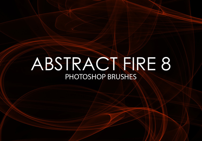 Free Abstract Fire Photoshop Brushes 8