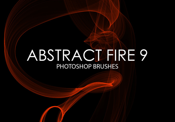 Gratis Abstract Fire Photoshop Borstar 9