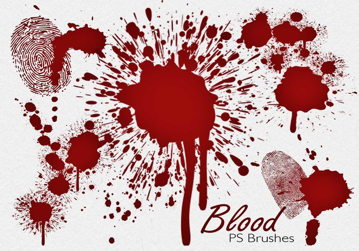 20 Blood Splatter PS Borstels abr vol.7