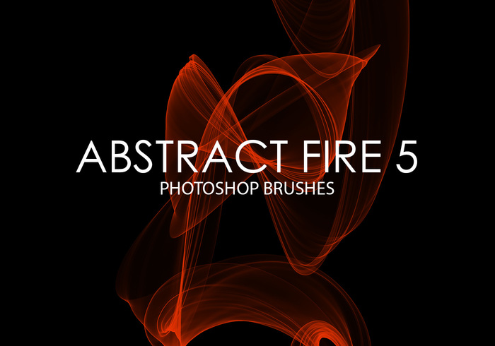 Free Abstract Fire Photoshop Pinsel 5