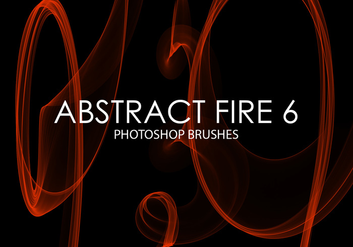 Gratis Abstrakt Fire Photoshop Borstar 6