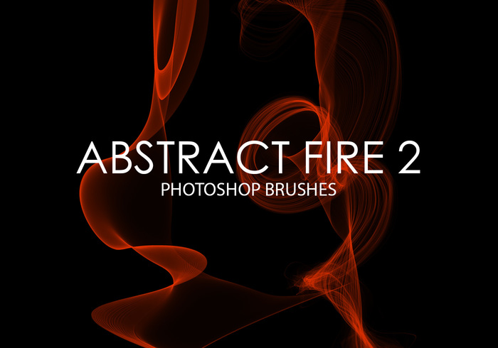 Free Abstract Fire Photoshop Pinsel 2