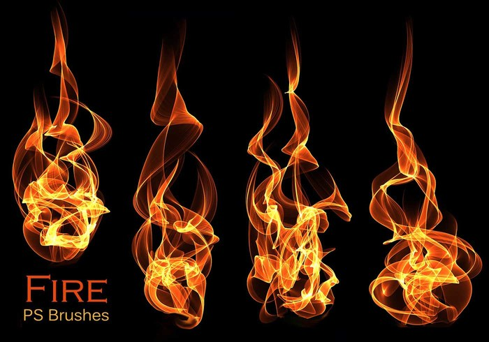 20 Fire PS Brushes abr.Vol.17