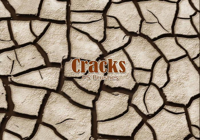 20 Cracks PS Brushes abr.Vol.6