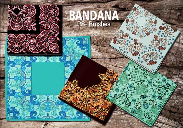 20 bandana ps brushes.abr vol.8