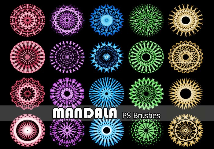 20 Mandala PS Bürsten abr. Vol.13