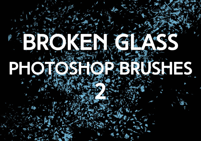 Broken Glass Brushes 2