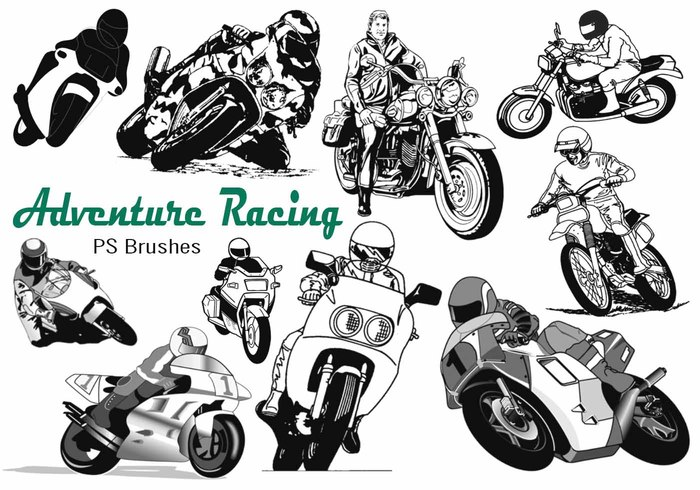 20 Motos Racing Adventure PS Brosses abr. Vol.13